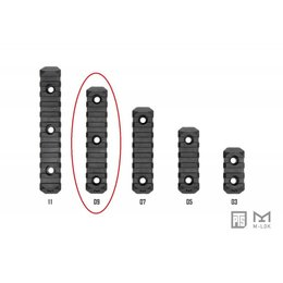 PTS PTS Enhanced Rail Section M-LOK 9 Slot
