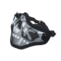 Bravo Airsoft BA V1 Strike Steel Face Mask Skull Black