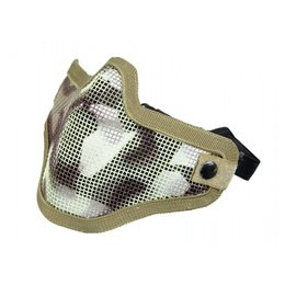 Bravo Airsoft BA V1 Strike Steel Face Mask Desert