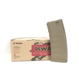 KWA KWA M4/M16 MID-CAP 120rnd 6 Pack DE