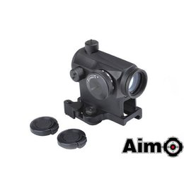 AIM Aim T1 Red/Green Dot with QD Mount BK