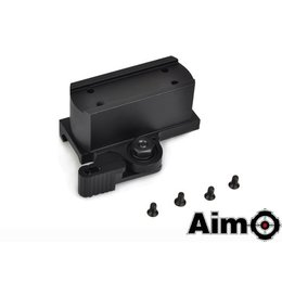 AIM QD Riser Mount for T1 and T2 Blk