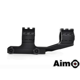 "AIM AIM 1"" One Piece Cantilever Scope Mount Blk"