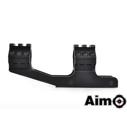 AIM AIM 30mm One Piece Cantilever Scope Mount Blk