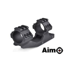 AIM AIM 30mm One Piece Cantilever Scope Mount Blk