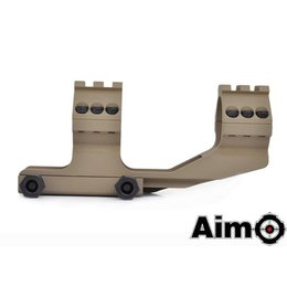 AIM AIM 30mm One Piece Cantilever Scope Mount DE