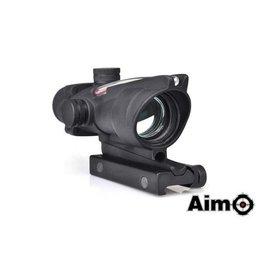AIM AIM ACOG 4X32C Red Dot Illumination Source Fiber Blk