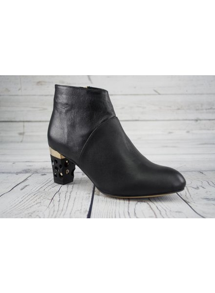 All Black Holey Heel