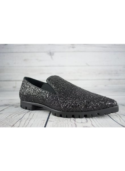 All Black Formal Slip-on Lugg