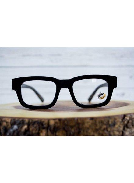 EyeBobs Get Flocked Black