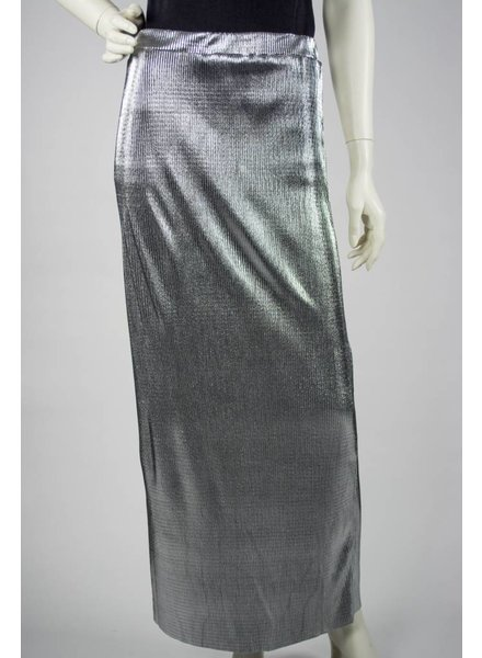 Alembika Silver Metallic Skirt