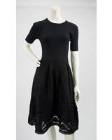 Gracia Embroidered Net Dress