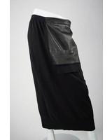 Risona Leather Pocket Skirt