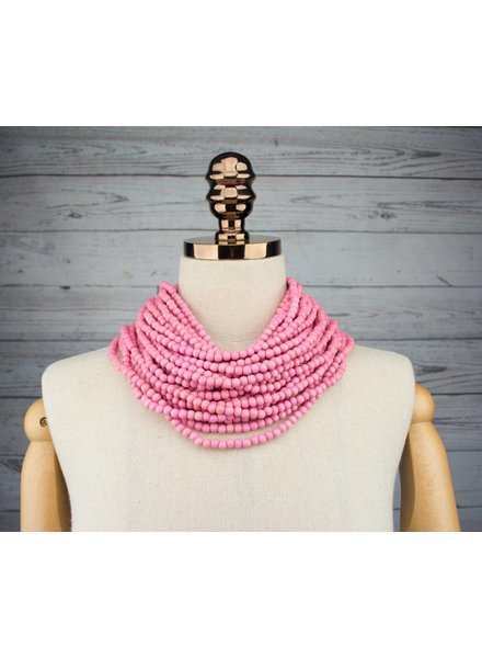 Monies Multi-Strand Beaded  Necklace