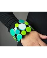 Monies Polyresin Bracelet