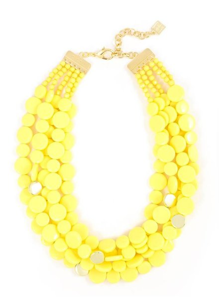 Zenzii Multi-Strand Dot Necklace