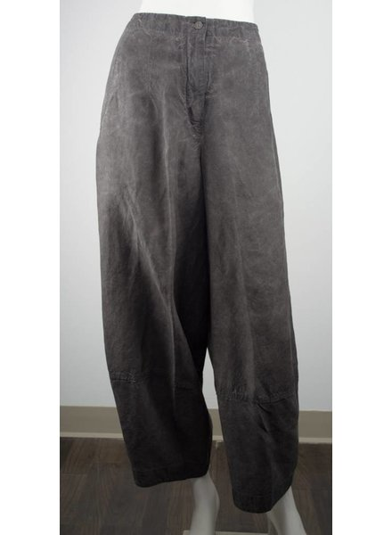 Grizas Wide Leg Silk & Linen Pant