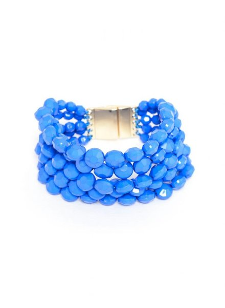 Zenzii Multi-Strand Beaded Bracelet