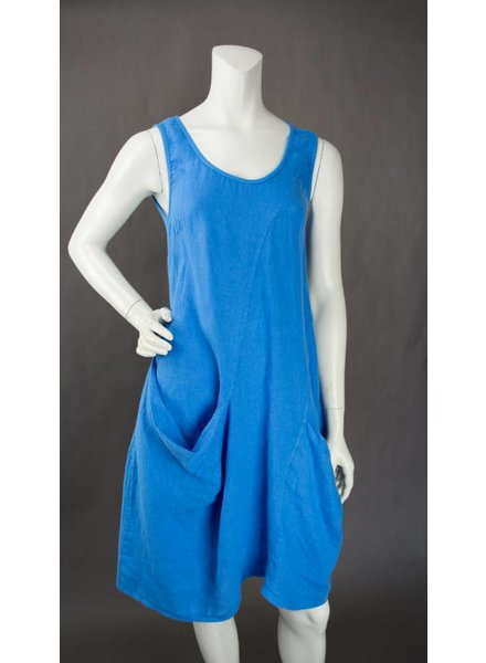 Inizio Linen Tank Dress