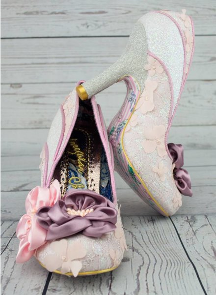 Irregular Choice Peach Melba Pump