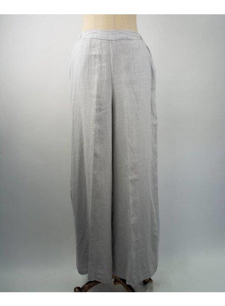 Match Point Wide Leg Linen Trousers