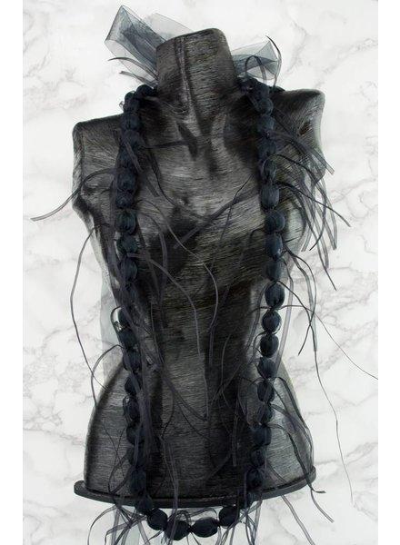 Dress To Kill Organza Balls & Ribbon Necklace