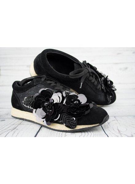 Espadrille Sequin Sneaker