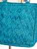 Helping Hands Helping Hands Teal Woven Tote