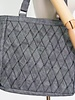 Helping Hands Helping Hands Charcoal Woven Tote