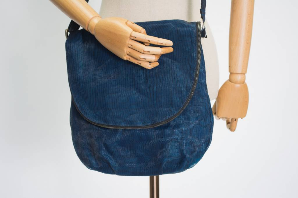 Helping Hands Helping Hands Navy Courier Bag