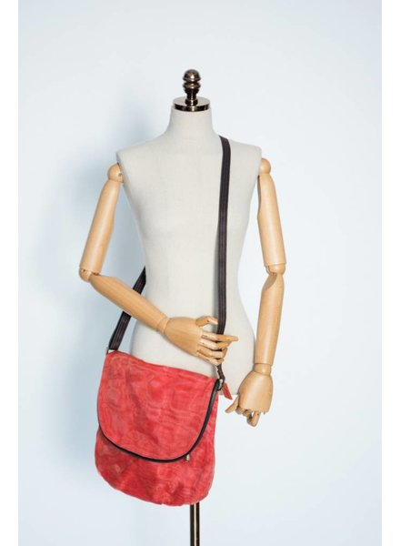 Helping Hands Persimmon Courier Bag