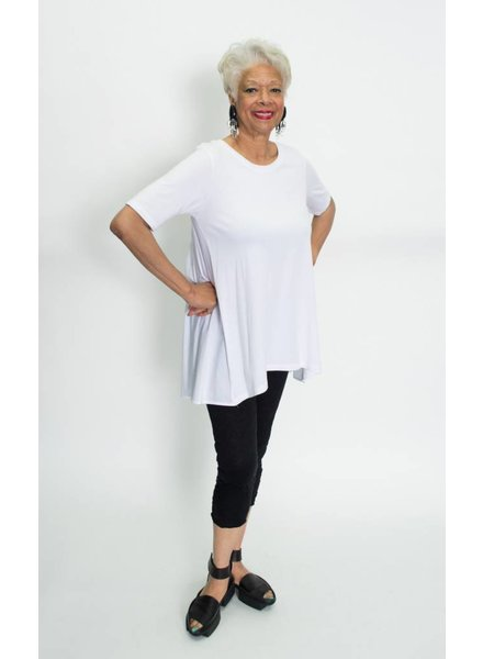 Comfy Contrast Tunic Plus