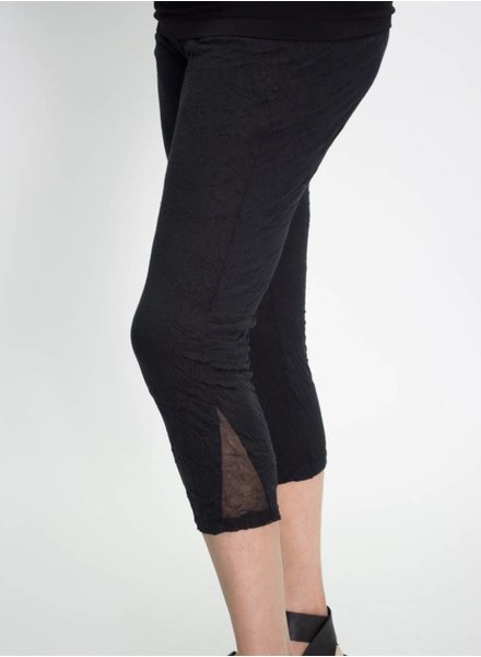 Comfy Triangle Mesh Leggings Plus