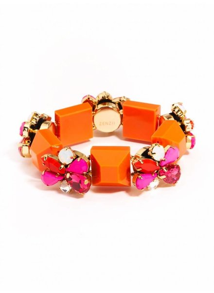 Zenzii Resin Blocks & Stone Bracelet