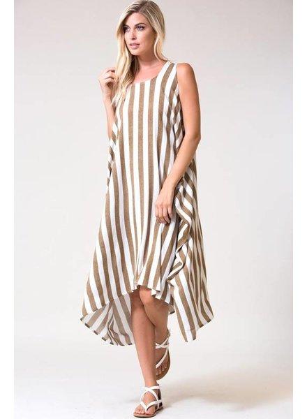 Love In Brooke Striped Harem Dress