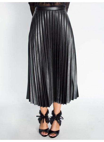 Gracia Vegan Leather Skirt