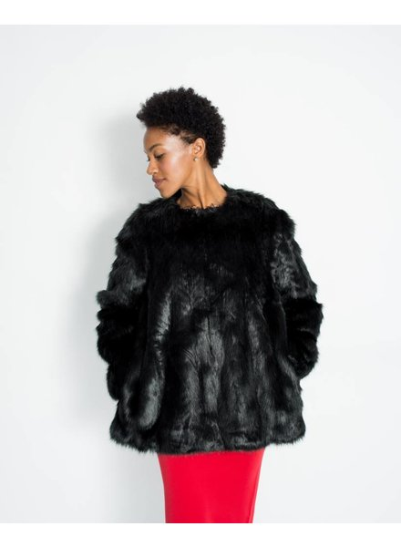 Lauren Vidal Riva Faux Fur Coat