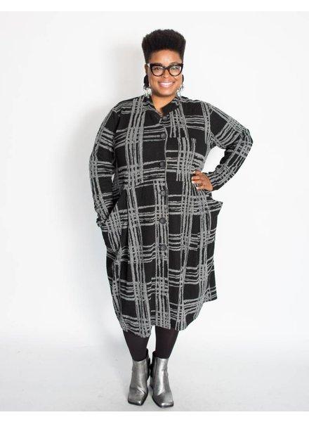 Transparente Astrid Coat Dress