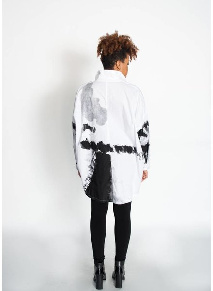 Moyuru Abstract Blouse