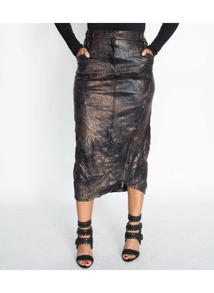 Boheme Urban Vegan Leather Skirt