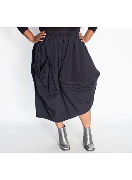 Moyuru Side Zipper Skirt