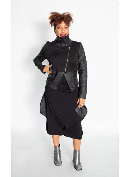 Elsewhere Leatherette Jacket