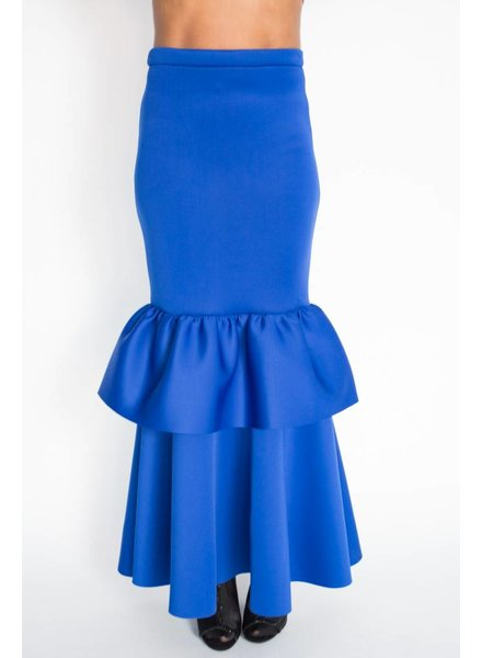 N by Nancy Double Peplum Skirt