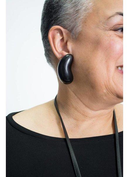 Monies Ebony Comma Earring