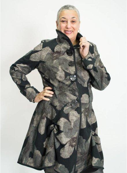 An Ren Floral Reversible Coat