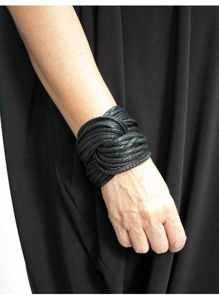 Monies Ebony Cord Bracelet