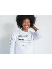 A Black and White Story QUEEN BEE Sweatshirt