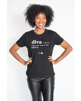 A Black and White Story DIVA T-shirt