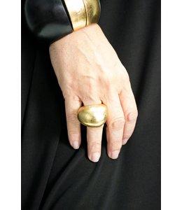Mood Gold Foil Ring