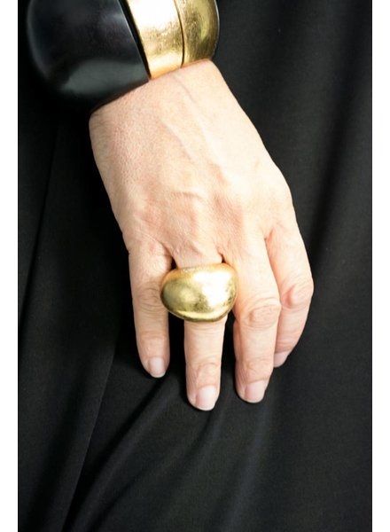 Mood Gold Foil Ring
